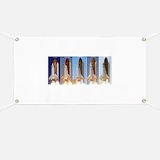 space shuttles Banner