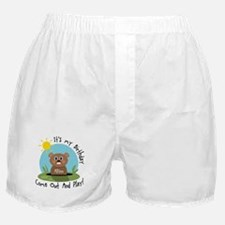 Allison birthday (groundhog) Boxer Shorts