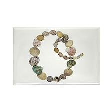 O Seashells Rectangle Magnet