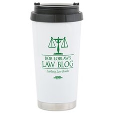 Bob Lablaw's Law Blog Travel Mug