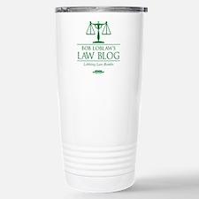 Bob Lablaw's Law Blog Travel Mug