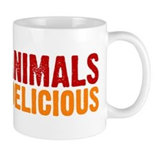 I love animals they're delici Mug
