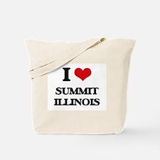 I love Summit Illinois Tote Bag