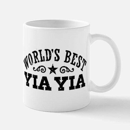 World's Best Yia Yia Mug