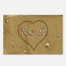 Noel Beach Love Postcards (Package of 8)