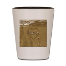 Noe Beach Love Shot Glass