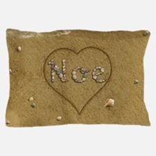 Noe Beach Love Pillow Case