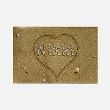 Nikki Beach Love Rectangle Magnet