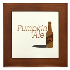 Pumpkin Ale Framed Tile