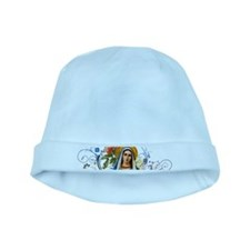 Immaculate Heart of Mary baby hat