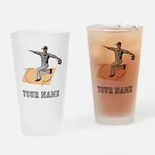 Baseball Umpire Safe (Custom) Drinking Glass