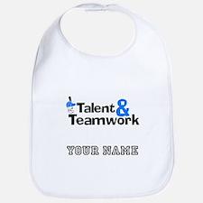 Baseball Talent And Teamwork (Custom) Bib