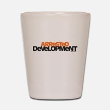 Arrested Development Logo Shot Glass