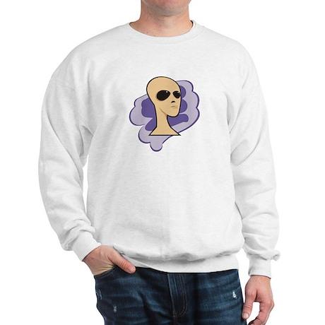 Dreaming Alien (white) - Sweatshirt