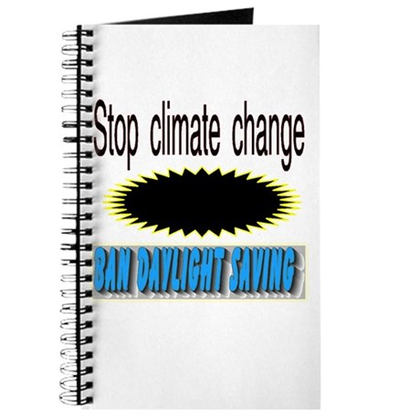 stop climate change Journal