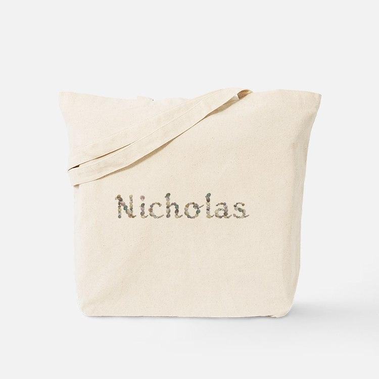 Nicholas Seashells Tote Bag