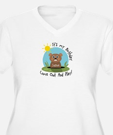 Justine birthday (groundhog) T-Shirt