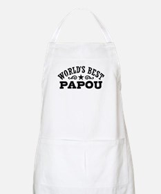 World's Best Papou Apron