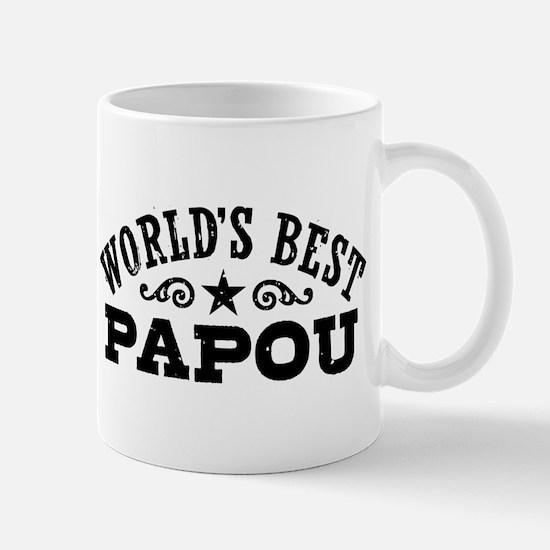 World's Best Papou Mug