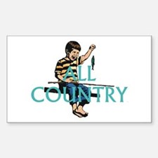 All Country Rectangle Decal