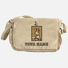 Softball Player (Custom) Messenger Bag