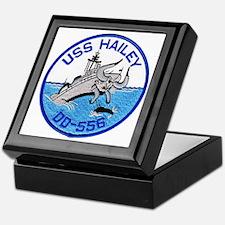 USS HAILEY Keepsake Box