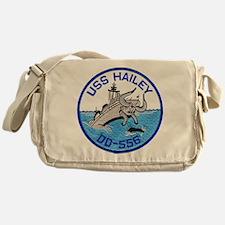 USS HAILEY Messenger Bag