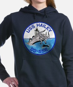 USS HAILEY Women's Hooded Sweatshirt