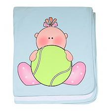 Cute Baby tennis baby blanket