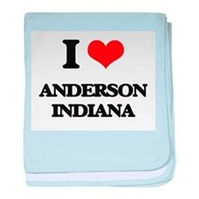 I love Anderson Indiana baby blanket