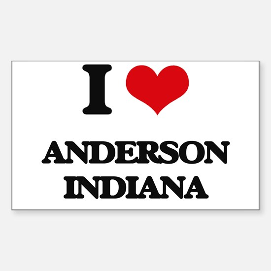 I love Anderson Indiana Decal