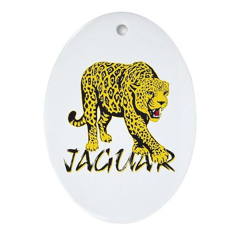 Jaguar Oval Ornament