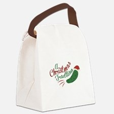 A Christmas Tradition Canvas Lunch Bag