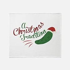 A Christmas Tradition Throw Blanket