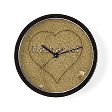 Nathaniel Beach Love Wall Clock