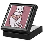 Rose Cat Keepsake Box