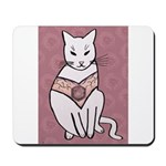 Rose Cat Mousepad