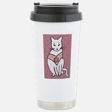 Rose Cat Travel Mug