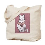Rose Cat Tote Bag