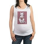 Rose Cat Maternity Tank Top