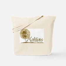 Palm Tree Maldives Tote Bag