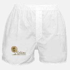 Palm Tree Maldives Boxer Shorts