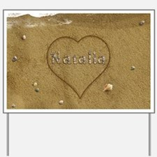 Natalia Beach Love Yard Sign