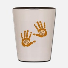 Hands Shot Glass