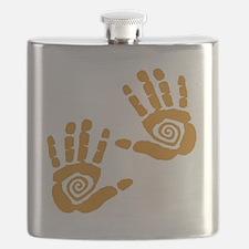 Hands Flask