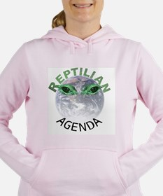 Reptilian Agenda Women's Hooded Sweatshirt