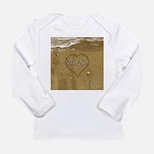 Nana Beach Love Long Sleeve Infant T-Shirt