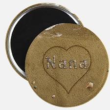"Nana Beach Love 2.25"" Magnet (10 pack)"
