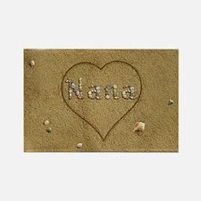 Nana Beach Love Rectangle Magnet (10 pack)