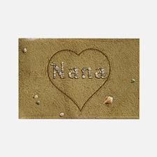 Nana Beach Love Rectangle Magnet (100 pack)